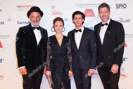 Editorial image of 45th annual German Filmball 2018 at Hotel Bayerischer Hof, Munich, Germany - 20 Jan 2018