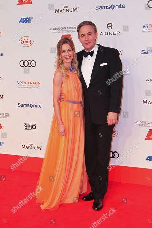 Lisa Martinek mit Ehemann Giulio Ricciarelli,