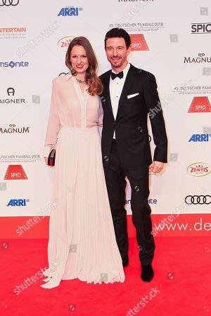 Oliver Berben mit Ehefrau Katrin,