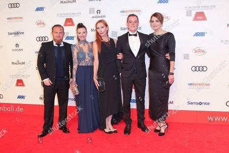 Axel Stein, Julia Hartmann, Andrea Sawatzki, XXX, Anja Kling,