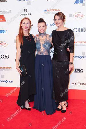 Andrea Sawatzki, Julia Hartmann, Anja Kling,