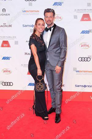 Annemarie Carpendale mit Ehemann Wayne Carpendale,