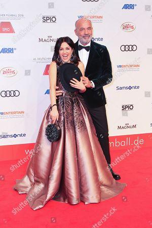 Heiner Lauterbach mit Ehefrau Viktoria Lauterbach,