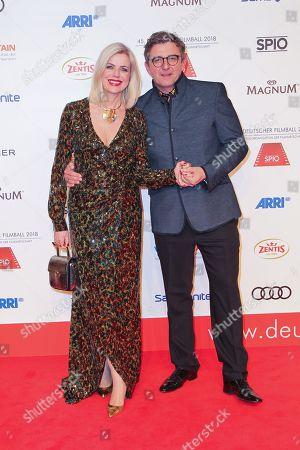 Hans Sigl mit Ehefrau Susanne Sigl,