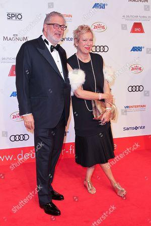 Martin Moszkowicz mit Lebensgefaehrtin Doris Doerrie,