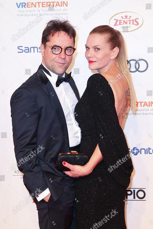 Jan Josef Liefers mit Ehefrau Anna Loos,