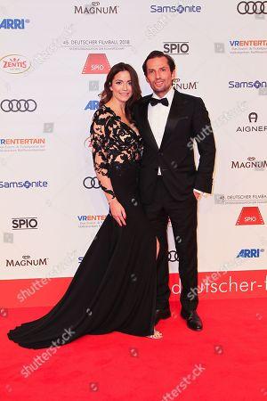 Quirin Berg mit partner Kara Hecker,