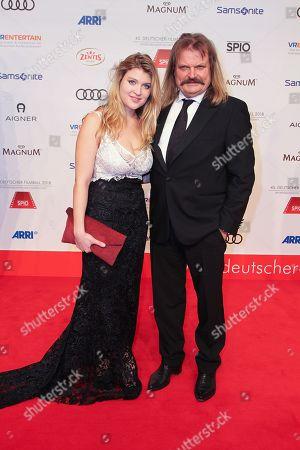 Editorial image of 45th annual German Filmball 2018 at Hotel Bayerischer Hof, Munich, Germany - 20 Jan 2018