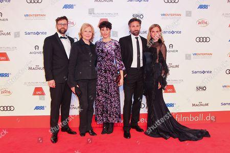 Editorial photo of 45th annual German Filmball 2018 at Hotel Bayerischer Hof, Munich, Germany - 20 Jan 2018