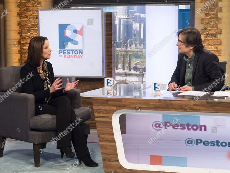 Allegra Stratton and Robert Peston