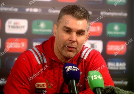 La Rochelle vs Harlequins. Harlequins? Defence Coach Nick Easter