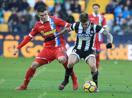 Editorial picture of Udinese vs Spal, Italy - 21 Jan 2018
