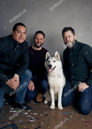 "Editorial image of 2018 Sundance Film Festival - ""White Fang"" Portrait Session, Park City, USA - 21 Jan 2018"