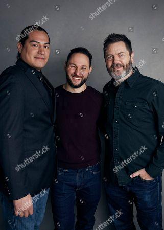 "Editorial picture of 2018 Sundance Film Festival - ""White Fang"" Portrait Session, Park City, USA - 21 Jan 2018"