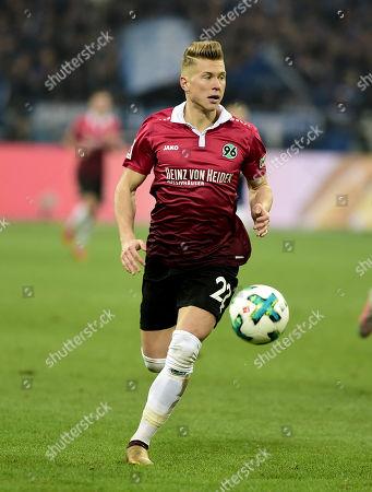 Football : Germany -1. Bundesliga  2017/18  Schalke 04 Vs Hannover 96 21/01/2018 - Matthias Ostrzolek (Hannover 96)