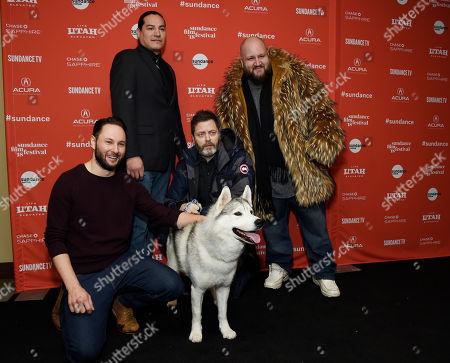 "Editorial photo of 2018 Sundance Film Festival - ""White Fang"" Premiere, Park City, USA - 21 Jan 2018"