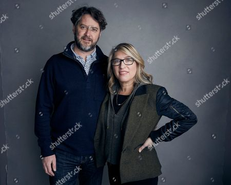 "Frank Evers, Lauren Greenfield. Producer Frank Evers, left, and director Lauren Greenfield pose for a portrait to promote the film, ""Generation Wealth"", at the Music Lodge during the Sundance Film Festival, in Park City, Utah"