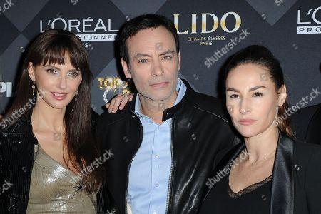 Frederique Bel et Anthony Delon, Vanessa Demouy