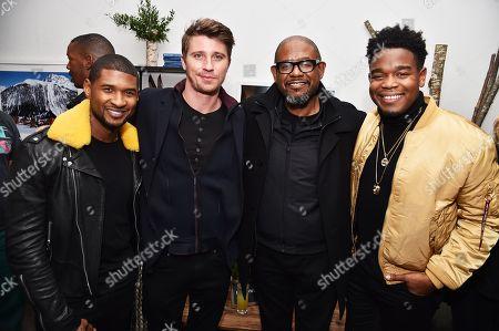 Usher, Garrett Hedlund, Forest Whitaker, Dexter Darden