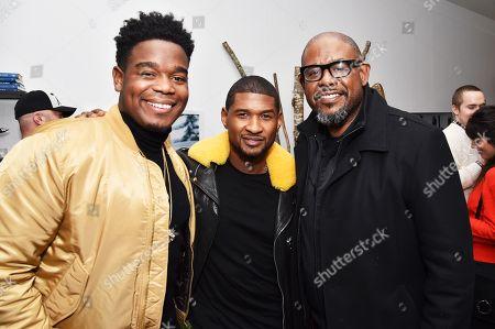 Dexter Darden, Usher, Forest Whitaker