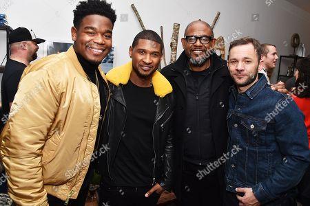 Dexter Darden, Usher, Forest Whitaker, Austin Hebert
