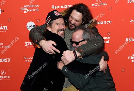 Stock Picture of Ethan Hawke, David Kallaway, Ritchie Montgomery