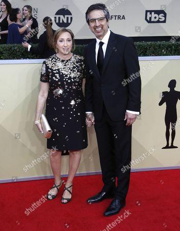 Anna Romano and Ray Romano