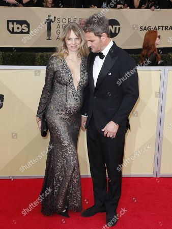 Cecile Breccia and Jason Clarke