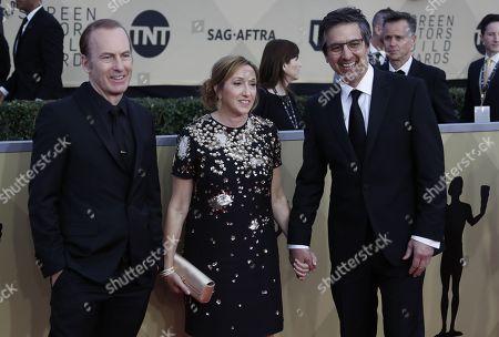 Robert Odenkirk, Anna Romano and Ray Romano
