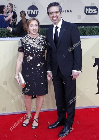 Anna Romano (L) and Ray Romano (R) arrive for the 24th annual Screen Actors Guild Awards ceremony at the Shrine Exposition Center in Los Angeles, California, USA, 21 January 2018. The SAG Awards honors the best achievements in film and television performances.