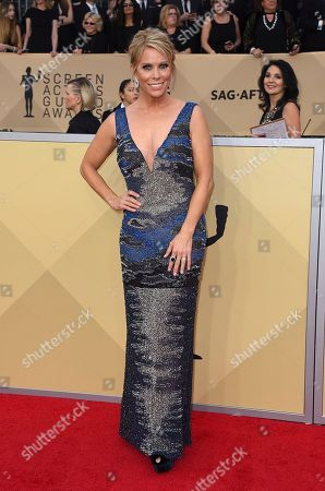 Cheryl Hines arrives at the 24th annual Screen Actors Guild Awards at the Shrine Auditorium & Expo Hall, in Los Angeles