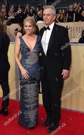 Cheryl Hines, Robert F. Kennedy, Jr. Cheryl Hines, left, and Robert F. Kennedy, Jr. arrive at the 24th annual Screen Actors Guild Awards at the Shrine Auditorium & Expo Hall, in Los Angeles