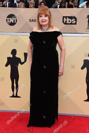 Annie Golden arrives at the 24th annual Screen Actors Guild Awards at the Shrine Auditorium & Expo Hall, in Los Angeles