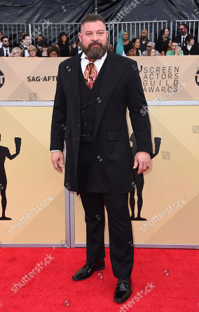 Brad William Henke arrives at the 24th annual Screen Actors Guild Awards at the Shrine Auditorium & Expo Hall, in Los Angeles