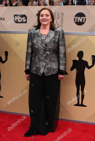 Dale Soules arrives at the 24th annual Screen Actors Guild Awards at the Shrine Auditorium & Expo Hall, in Los Angeles