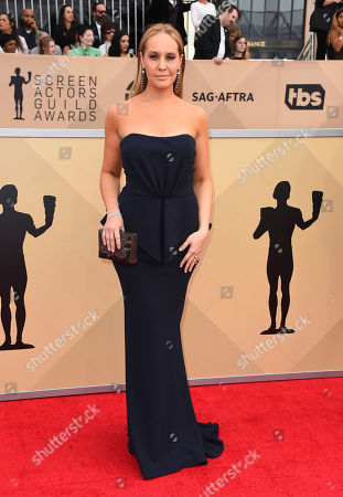 Kelly Karbacz arrives at the 24th annual Screen Actors Guild Awards at the Shrine Auditorium & Expo Hall, in Los Angeles