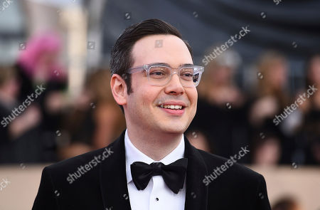 Nelson Franklin arrives at the 24th annual Screen Actors Guild Awards at the Shrine Auditorium & Expo Hall, in Los Angeles