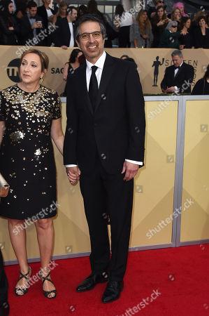 Ray Romano, Anna Romano. Anna Romano, left, and Ray Romano arrive at the 24th annual Screen Actors Guild Awards at the Shrine Auditorium & Expo Hall, in Los Angeles