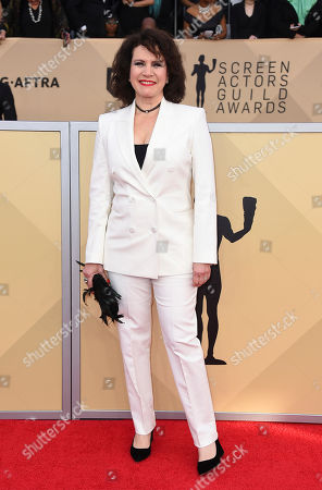 Susie Essman arrives at the 24th annual Screen Actors Guild Awards at the Shrine Auditorium & Expo Hall, in Los Angeles