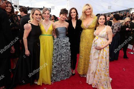 Stock Photo of Taryn Manning, Emma Myles, Kimiko Glenn, Julie Lake, Francesca Curran, Yael Stone