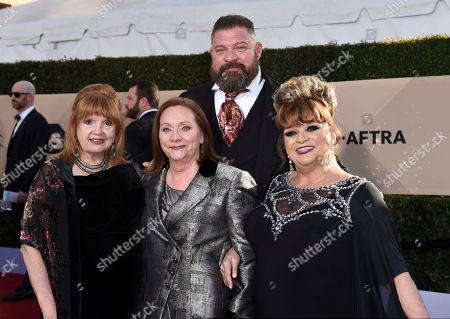 Annie Golden, Dale Soules, Brad William Henke, Lin Tucci. Annie Golden, from left, Dale Soules, Brad William Henke, and Lin Tucci arrive at the 24th annual Screen Actors Guild Awards at the Shrine Auditorium & Expo Hall, in Los Angeles