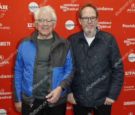 Ron Yerxa ( L) and Albert Berger (R) arrive for the premiere of the movie 'What They Had' at the 2018 Sundance Film Festival in Park City, Utah, USA, 21 January 2018. The festival runs from  the 18 to 28 January.
