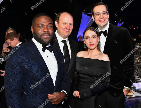 Sam Richardson, Dan Bakkedahl, Sarah Sutherland, Nelson Franklin. Sam Richardson, from left, Dan Bakkedahl, Sarah Sutherland, and Nelson Franklin attend the 24th annual Screen Actors Guild Awards at the Shrine Auditorium & Expo Hall, in Los Angeles