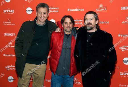 Richard Linklater, Ethan Hawke, John Sloss