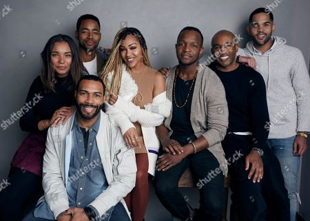 """Editorial picture of 2018 Sundance Film Festival - """"A Boy. A Girl. A Dream: Love on Election Night"""" Portrait Session, Park City, USA - 21 Jan 2018"""