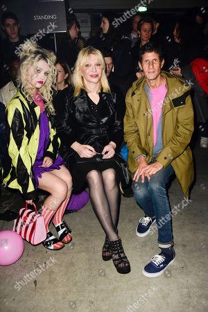 Charlotte Free, Courtney Love, Mike Diamond
