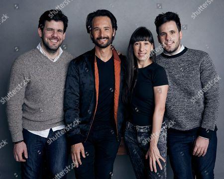 Stock Image of Sebastian Barriuso, Rodrigo Santoro, Maricel Alvarez, Rodrigo Barriuso