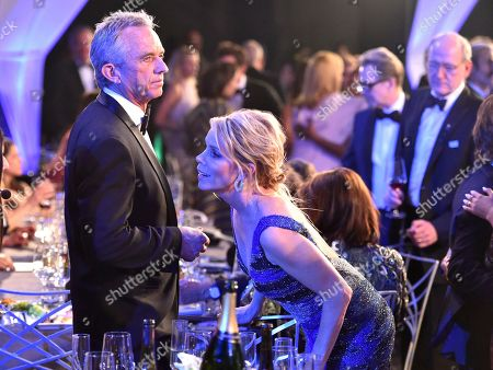 Cheryl Hines, Robert F. Kennedy, Jr. Cheryl Hines, right, and Robert F. Kennedy, Jr. appear in the audience at the 24th annual Screen Actors Guild Awards at the Shrine Auditorium & Expo Hall, in Los Angeles