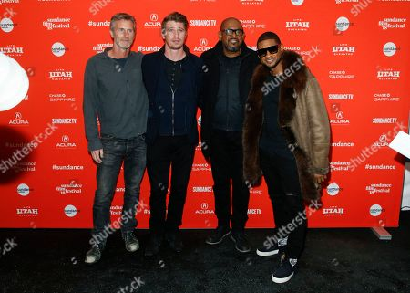 "Editorial photo of 2018 Sundance Film Festival - ""Burden"" Premiere, Park City, USA - 21 Jan 2018"