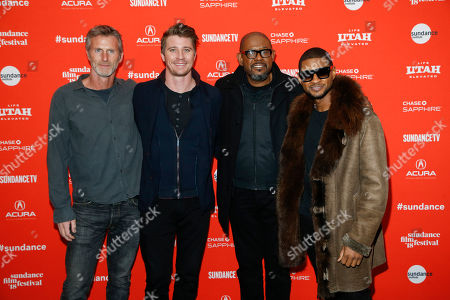"Editorial image of 2018 Sundance Film Festival - ""Burden"" Premiere, Park City, USA - 21 Jan 2018"